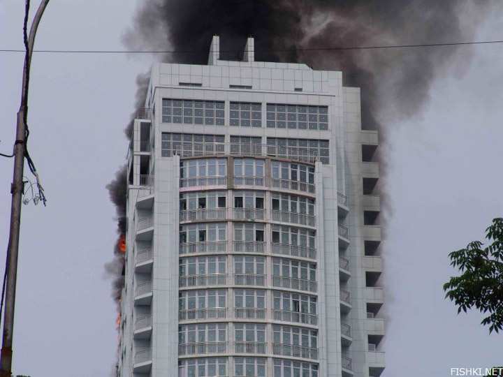 heavy fire took place in Vladivostok 2