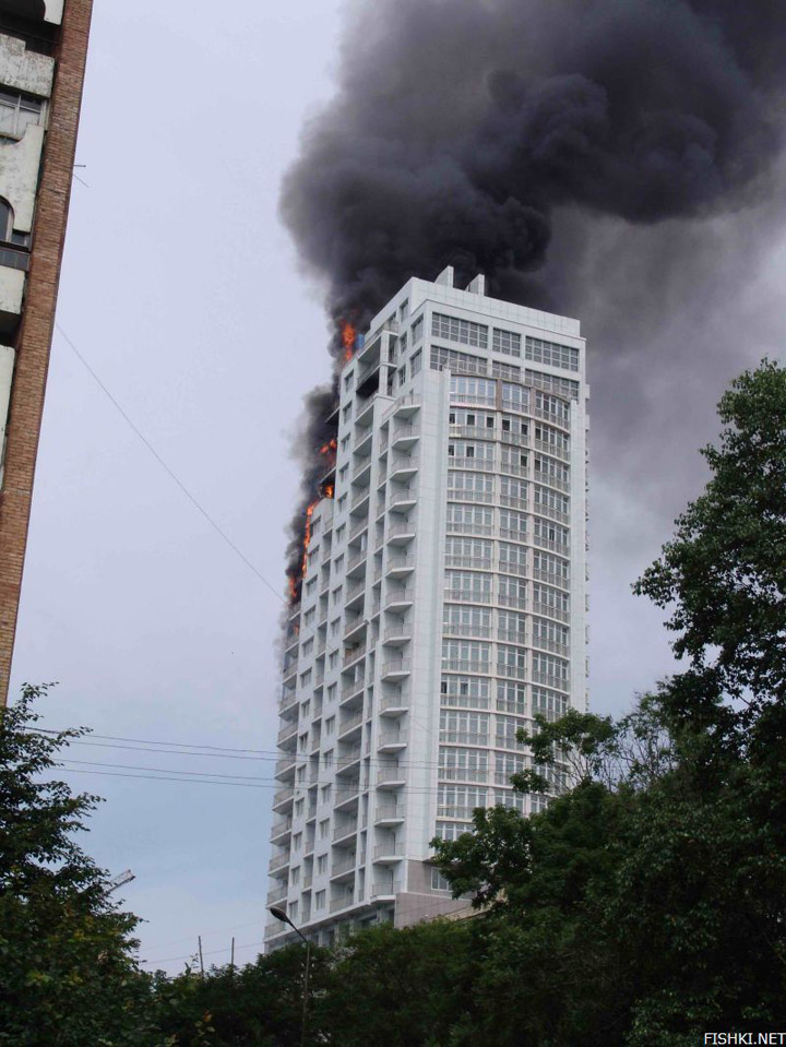 heavy fire took place in Vladivostok 3