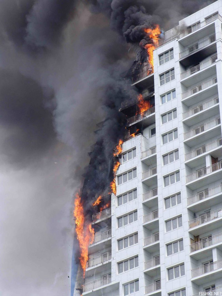 heavy fire took place in Vladivostok 4