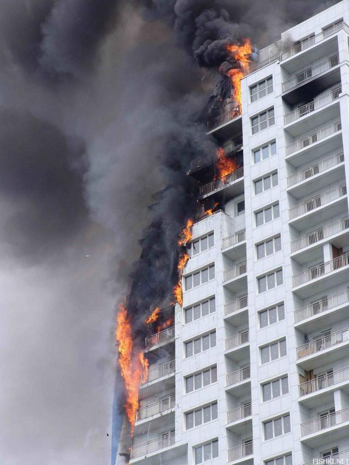 heavy fire took place in Vladivostok 4