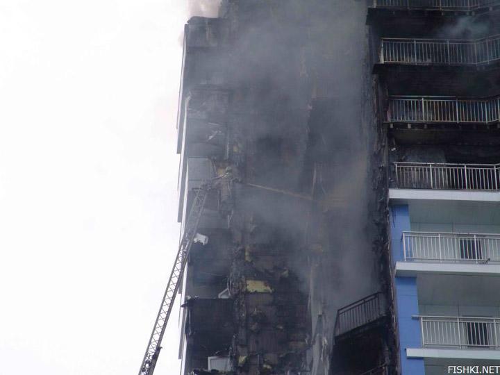 heavy fire took place in Vladivostok 6