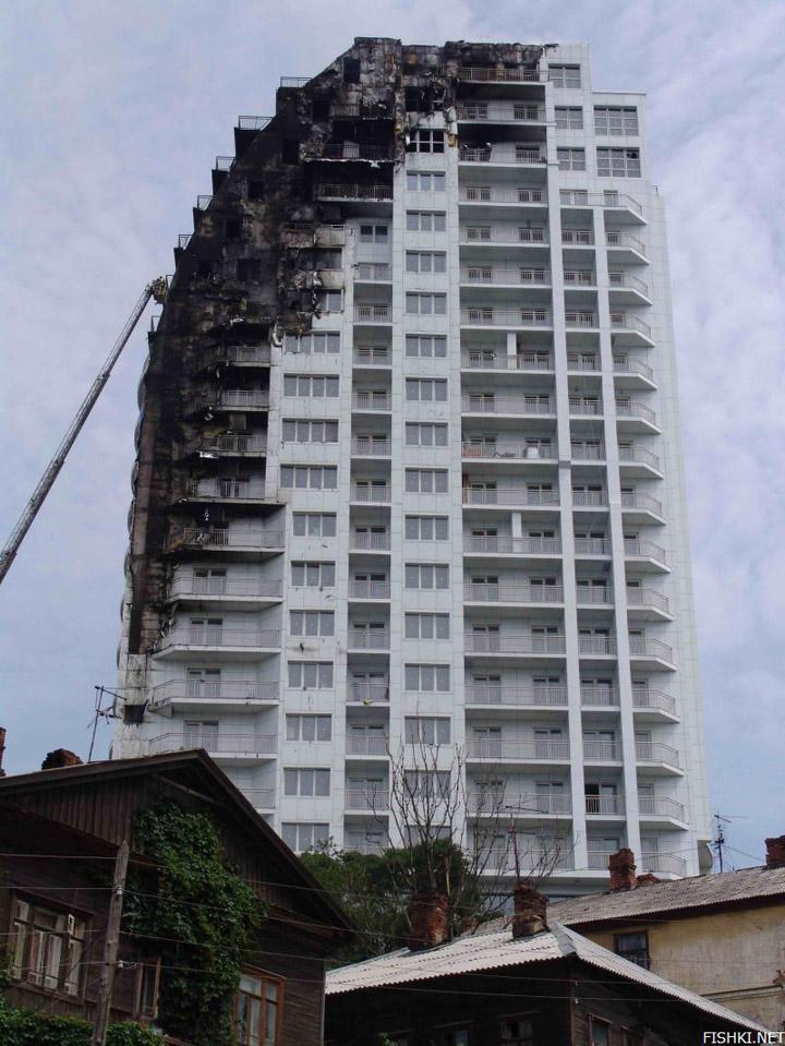 heavy fire took place in Vladivostok 9