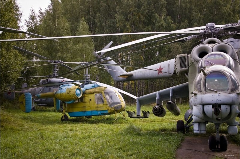 Russian helicopters 17