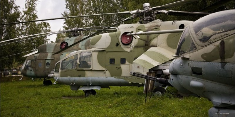 Russian helicopters 21