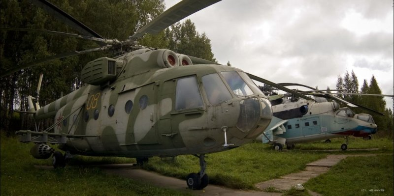 Russian helicopters 27