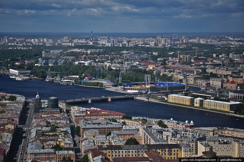 Helicopter Tour Over St. Petersburg 16