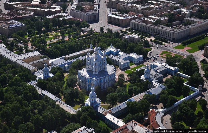 Helicopter Tour Over St. Petersburg 17