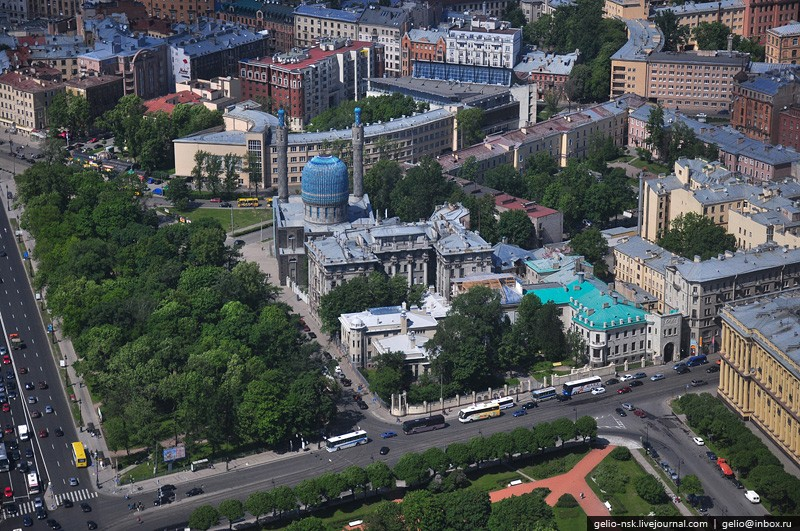 Helicopter Tour Over St. Petersburg 38