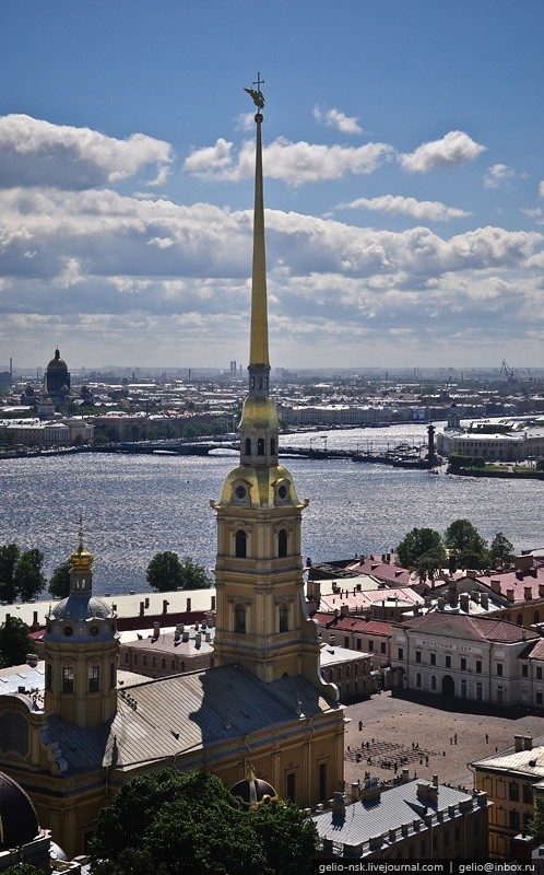 Helicopter Tour Over St. Petersburg 42