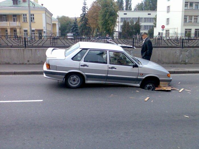 holes in Russian roads 2