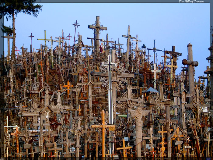 hill of crosses , lithuania  1