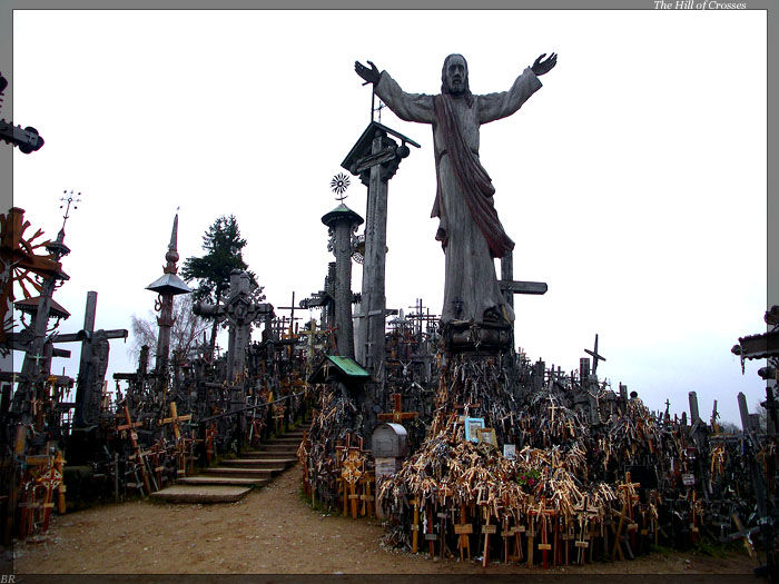 hill of crosses , lithuania  2