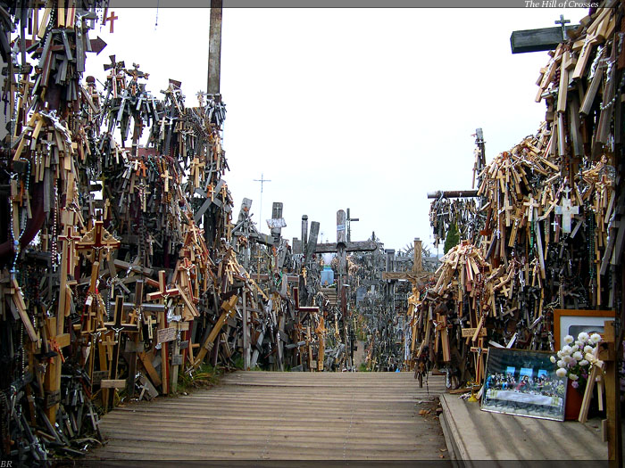 hill of crosses , lithuania  3