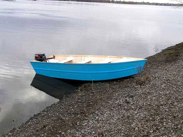 home-made boat 1