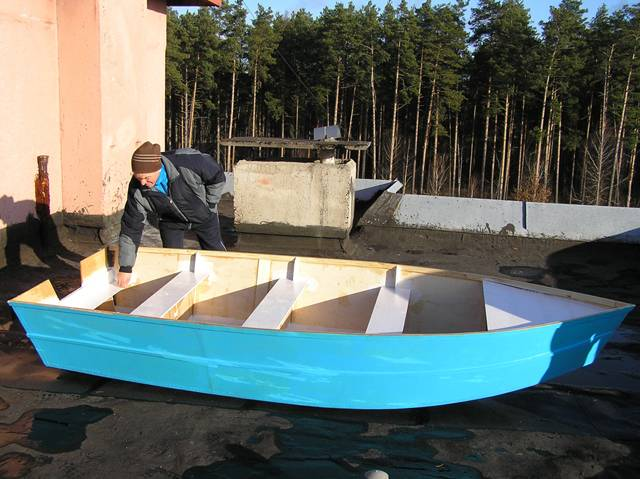 home-made boat 17