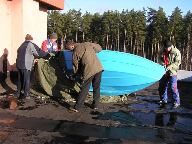 home-made boat 18