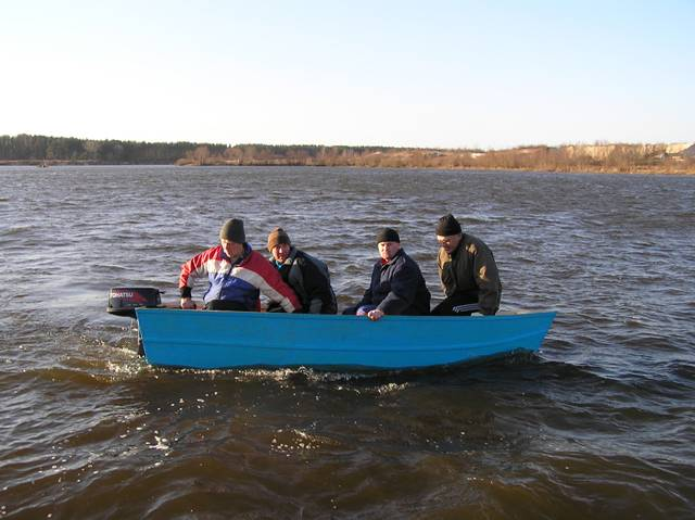 home-made boat 21