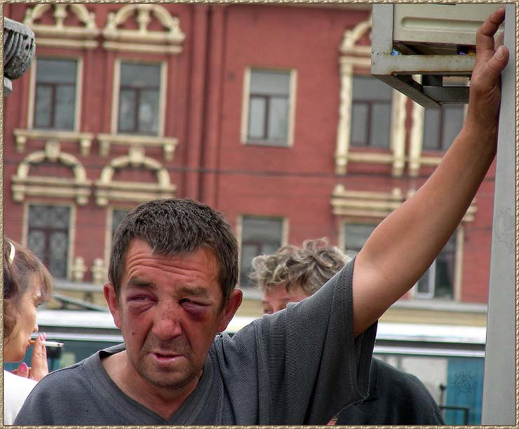 Homeless people at Moscow, Russia 3