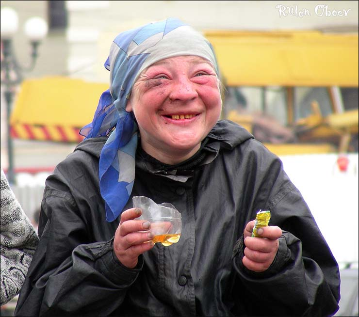 Homeless people at Moscow, Russia 4