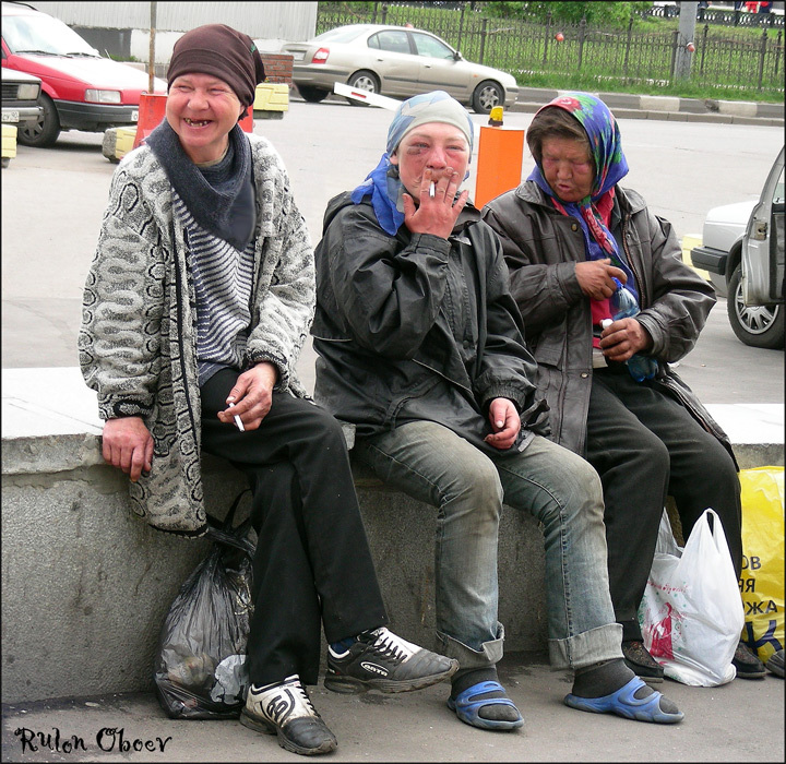Homeless people at Moscow, Russia 6