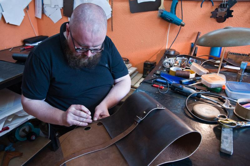 Homemade Leather Bags 11