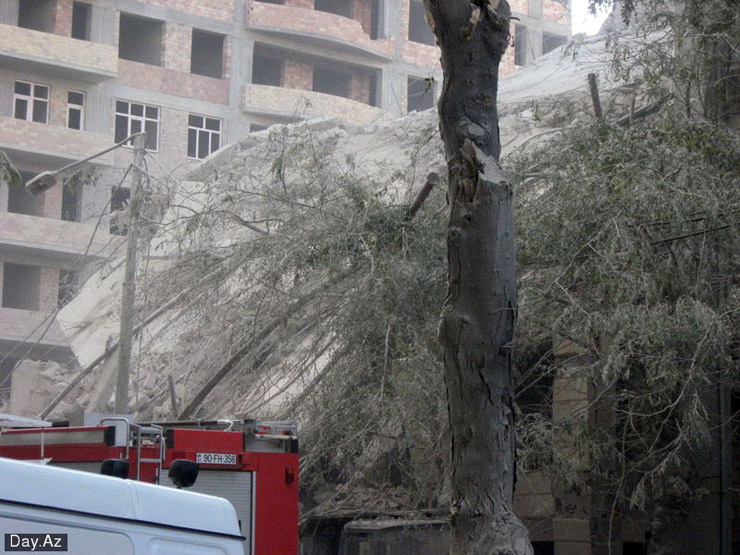 house collapsed in Azerbajan 14