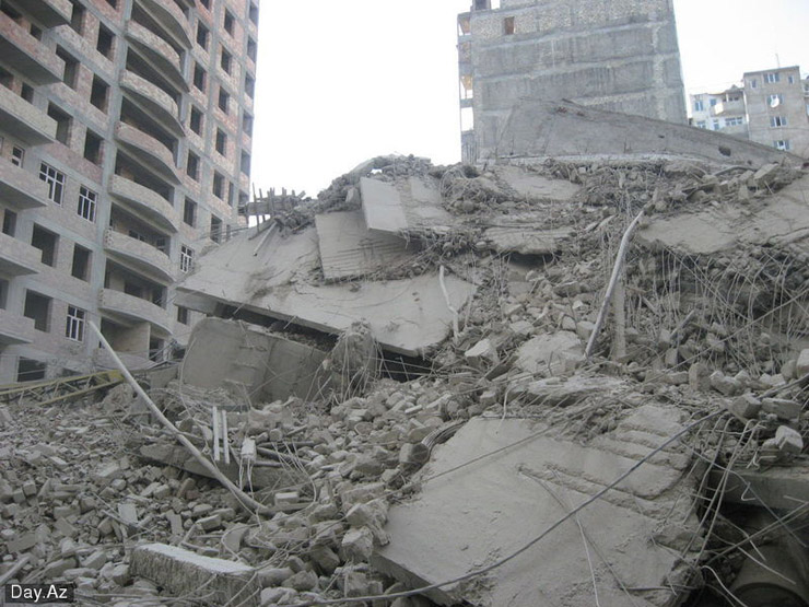 house collapsed in Azerbajan 17