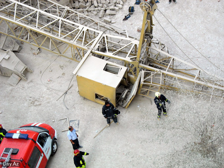 house collapsed in Azerbajan 18