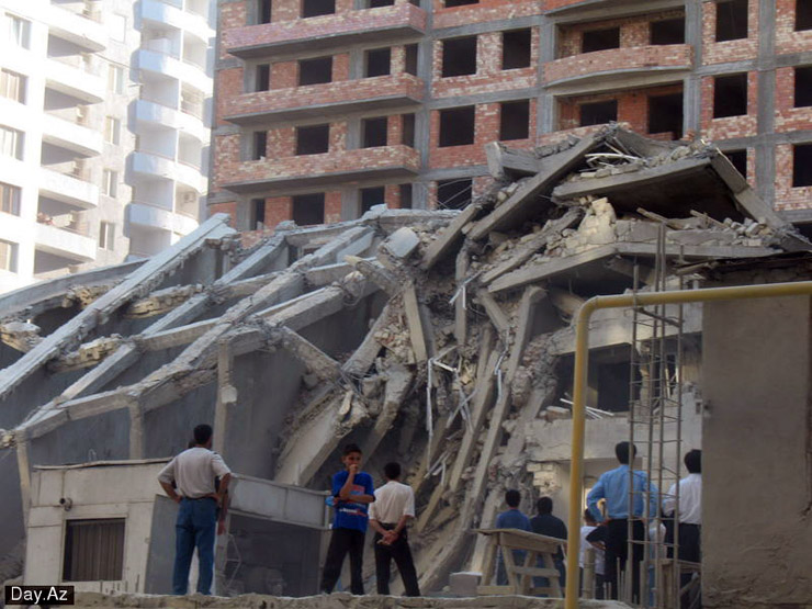 house collapsed in Azerbajan 5