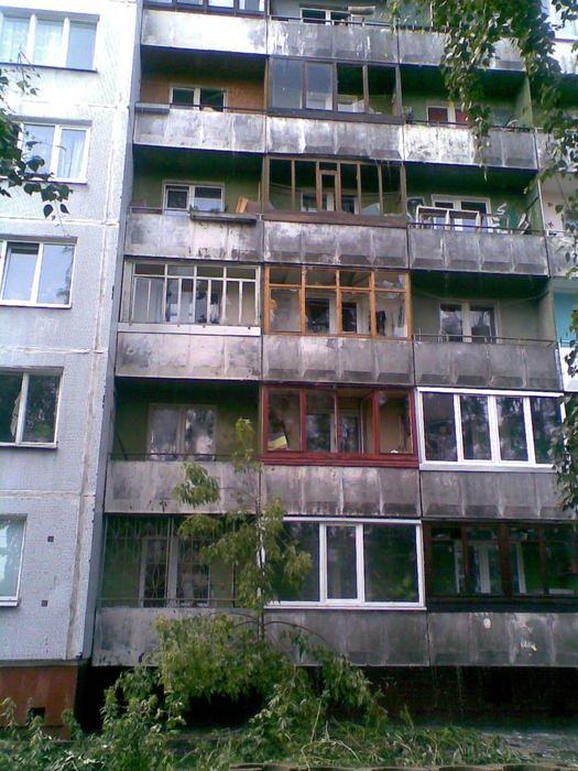 Russian house got showered 3