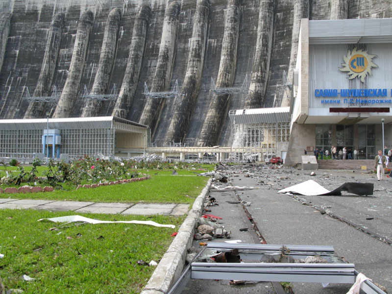 Explosion at Russian hydroelectric power station