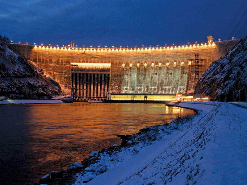 Russian Electic Hydro Power Plant Explosion 13