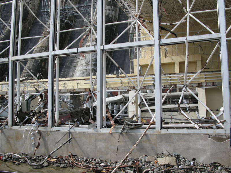 Russian Electic Hydro Power Plant Explosion 4