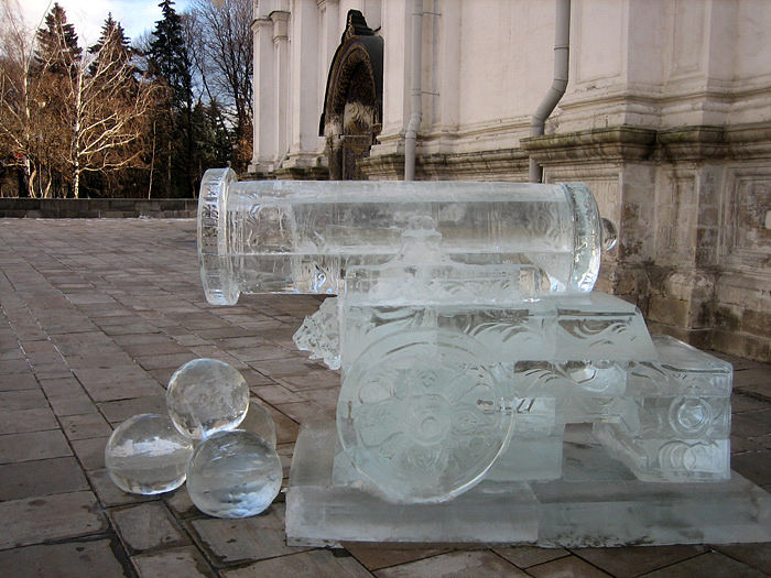 ice statues in Moscow Kremlin 5