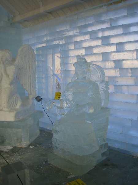An ice palace in St. Petersburg 15