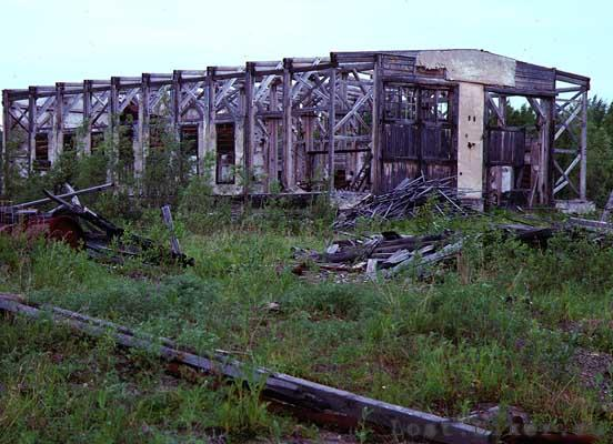 Igarka Salehard abandoned railway in Russia 10
