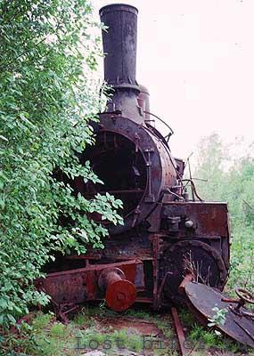 Igarka Salehard abandoned railway in Russia 16