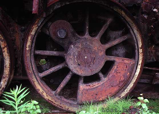 Igarka Salehard abandoned railway in Russia 17