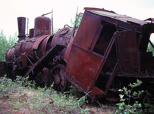 Igarka Salehard abandoned railway in Russia 19