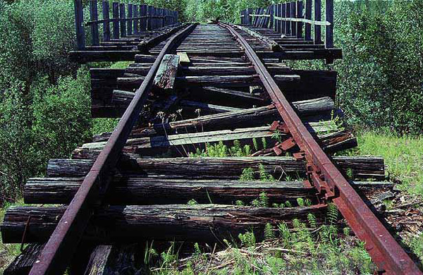 Igarka Salehard abandoned railway in Russia 2