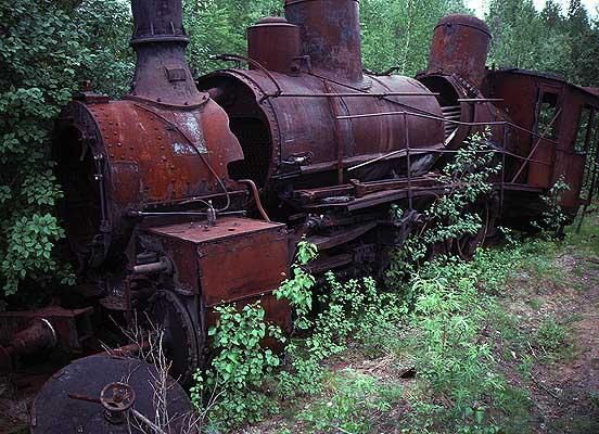 Igarka Salehard abandoned railway in Russia 24