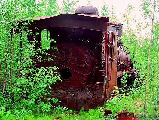 Igarka Salehard abandoned railway in Russia 25