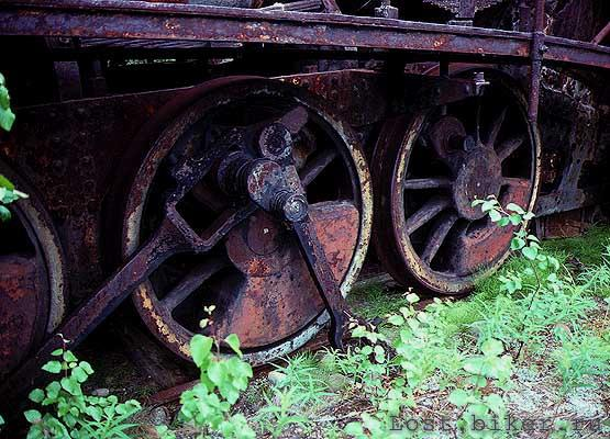 Igarka Salehard abandoned railway in Russia 26