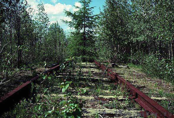 Igarka Salehard abandoned railway in Russia 3