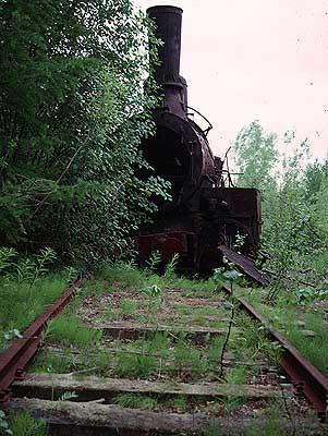 Igarka Salehard abandoned railway in Russia 30