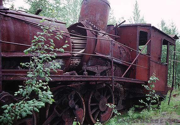 Igarka Salehard abandoned railway in Russia 5