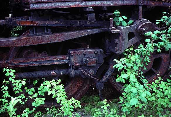 Igarka Salehard abandoned railway in Russia 7