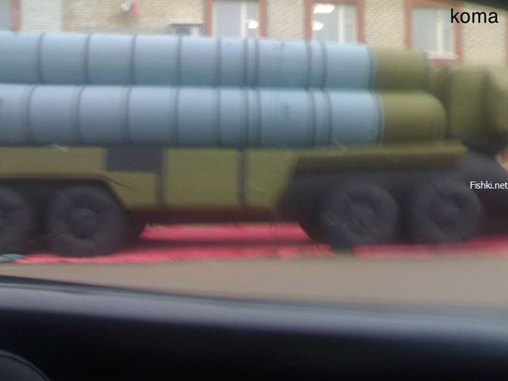 Russian inflatable missiles 2
