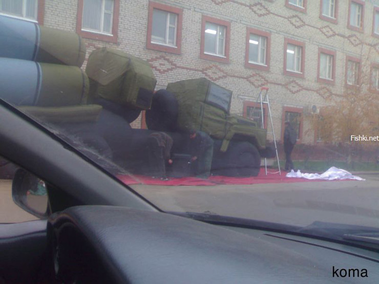 Russian inflatable missiles 3