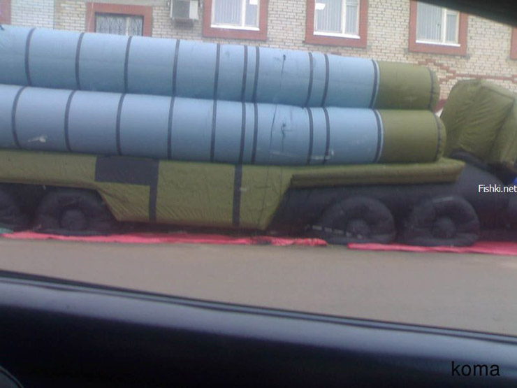 Russian inflatable missiles 4
